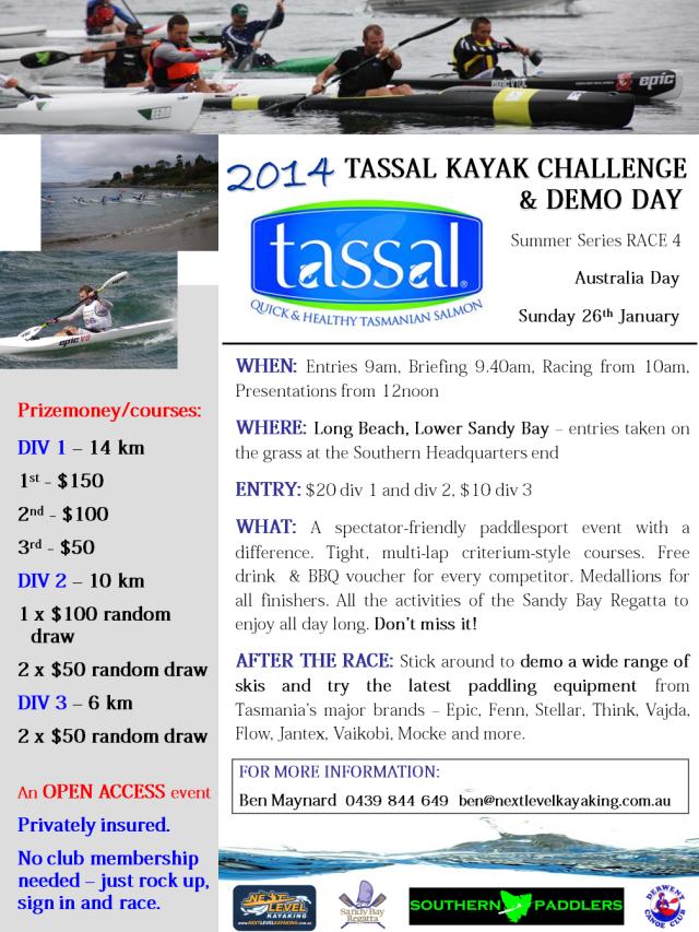 2014_TASSAL_Kayak_Challenge